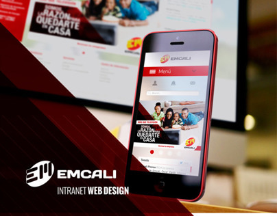 EMCALI / Intranet Web Design