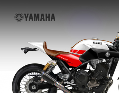 YAMAHA  MT-09  TRIPLE CAFE' CONCEPT