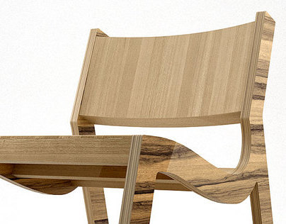 TOM lounge chair and a rocker
