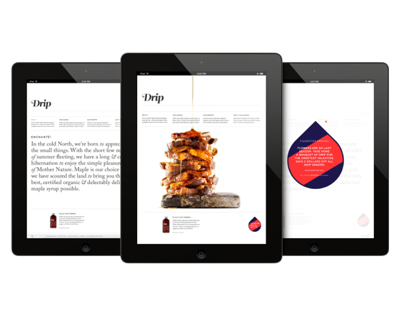 Drip Maple / Web Design