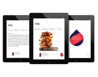 Drip Maple / Web Design