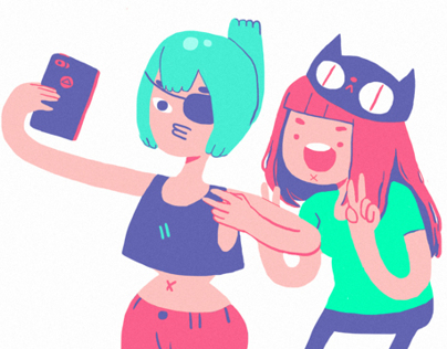 Pictoplasma's Selfie Project