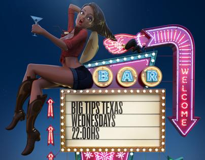Mtv Big Tips Texas Print Ad