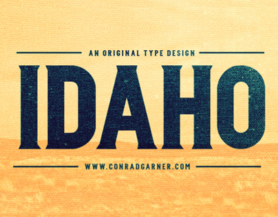 Type Design: IDAHO
