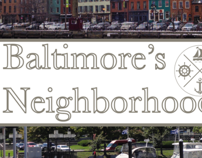 Baltimore's Neighborhoods: Booklet Layout