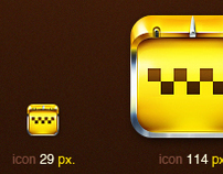 TAXI Application icon for iPhone