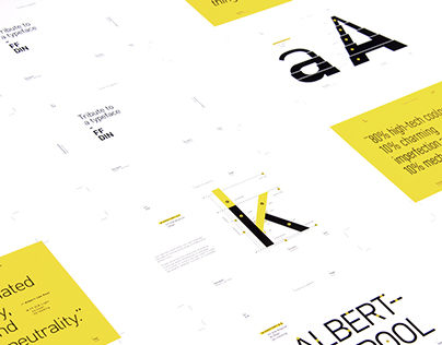 FF DIN - Tribute to a typeface