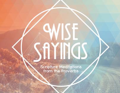 Wise Sayings CD