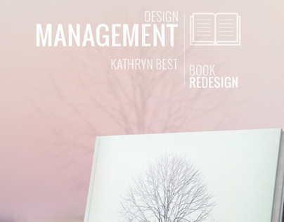 Management Design / Book Redesign Concept Work