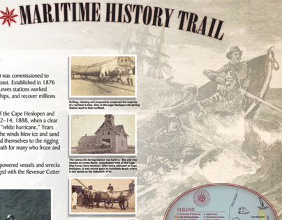 Lewes Maritime History Trail for Lewes, Delaware