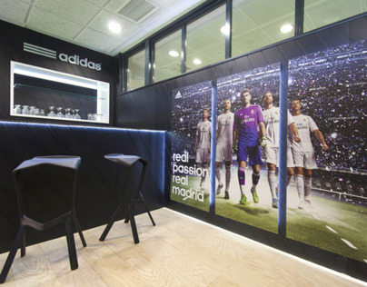 Adidas VIP Suite at Real Madrid Stadium 2013