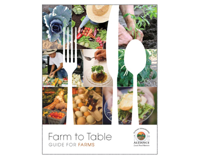 Farm to Table Brochure for Farms