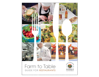 Farm to Table Brochure for Restaurants