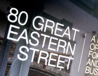 80 Great Eastern Street Website