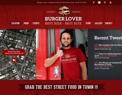 Food Truck & Restaurant WP Theme
