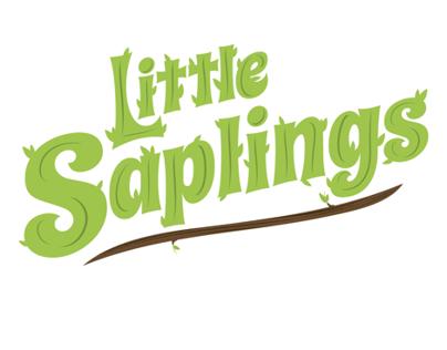 Little Saplings Education Program Branding