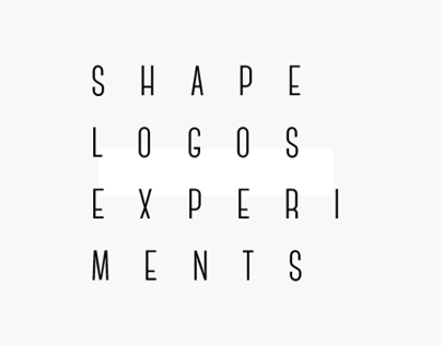Shape Logos Experiments