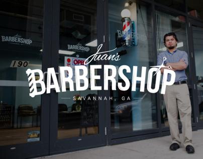 Juans Barber Shop Branding/app development