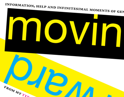MOVING FORWARD: A BOOKLET ABOUT TYPOGRAPHY