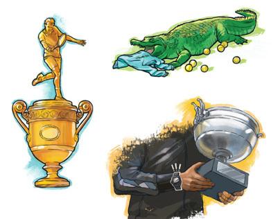 illustrations in the magazine Play Boy Ukraine