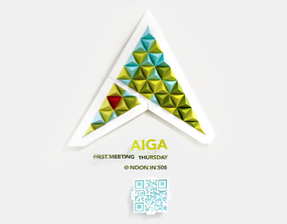 AIGA (Pyramid) Signage