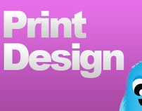 An array of Print Design