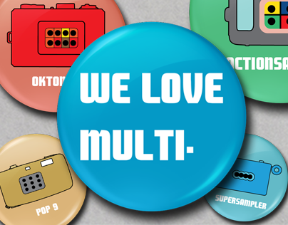 "Lomography ""We Love Multi"""