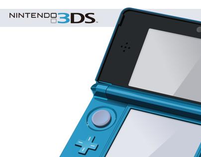 Nintendo 3DS (Vector)