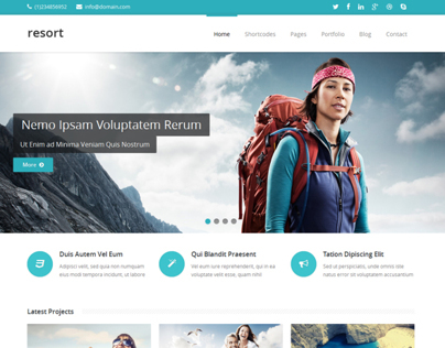 RESORT - Responsive HTML5 Template