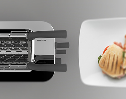 Adjustable Slot Toaster
