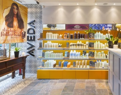 Aveda Lifestyle Salon - Edward James - Putney, UK.