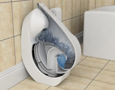 Iota - Folding Toilet