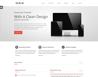 Clava - Responsive Multi-Purpose Drupal Theme