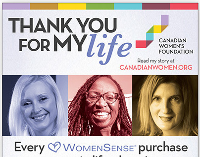 Thank You For My Life - Canadian Women's Foundation