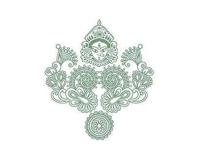 Goddess Durga | Illustration