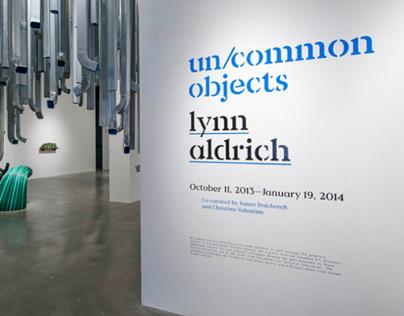 Lynn Aldrich catalog and wall graphics