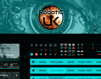 Robotic - Free UI Kit