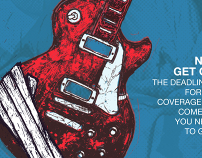 Rock Enroll Poster and Facebook Event Cover