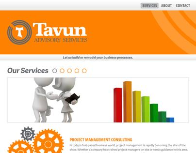Tavun Advisory Services - Website Design