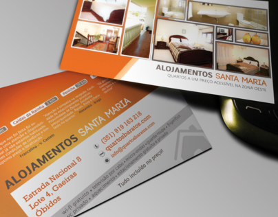 Business Card - Alojamentos Santa Maria
