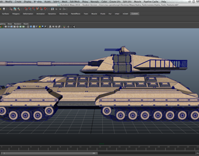Hydra Tank 3D Texture