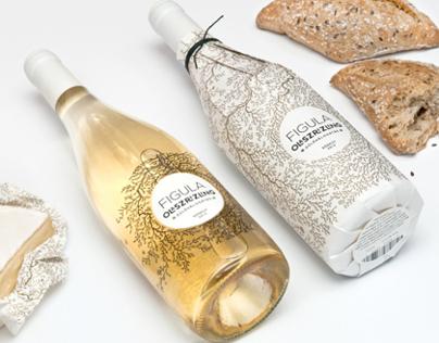 Figula Olaszrizling 2013  Wine Label Design