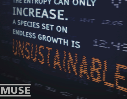 Muse The 2nd Law Poster