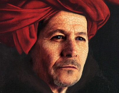 Gary Oldman Jan Van Eyck man in red turban