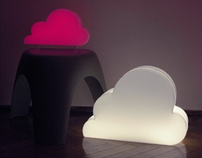 Cloud lamps. Cooperation - Marta Wajda