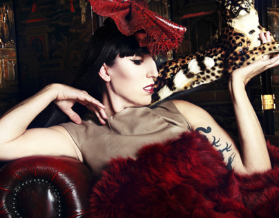 Rossy De Palma for Schön! Magazine UK
