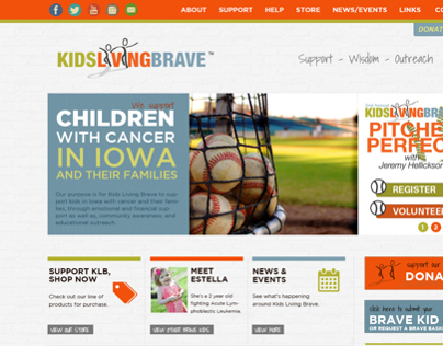 Kids Living Brave Website
