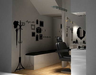 Interior Design - Barbershop