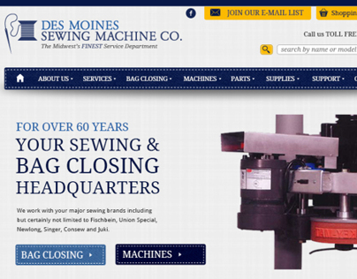 Des Moines Sewing Website