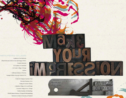 National Portfolio Day 2011 Poster